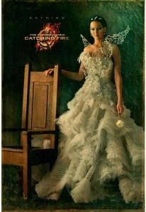 BTW: the dress weighs 25 lbs