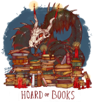 Art by Lauren/iguanamouth on tumblr.  Prints available here: iguanamouth.storenvy.com/collections/799275-dragon-hoards/products/9304708-hoard-of-books-print