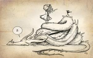 "Bonus Art for ""Julia's House for Lost Creatures"""